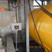 河南平顶山某化工厂-液氨液位计-外测液位计